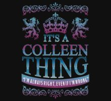 it's a COLLEEN thing by RooDesign