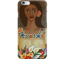 More than flowers she sells illusions iPhone Case/Skin