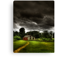 Storms a Comin... Canvas Print