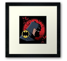 KNIGHT OF GOTHAM Framed Print