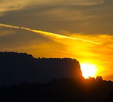 Sunset in the Hills by Pravine Chester