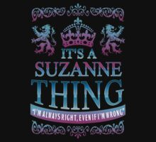 it's a SUZANNE thing by RooDesign