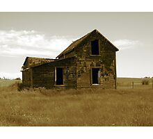 Old Homestead Photographic Print