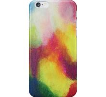 """Giallo"" original abstract artwork by Laura Tozer iPhone Case/Skin"