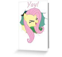 Yay!! Fluttershy Greeting Card
