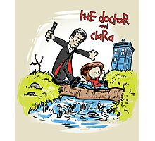The Doctor and Clara Photographic Print