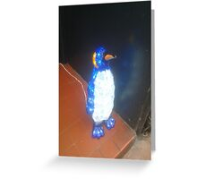 Christmas Penguin in Brighton Greeting Card