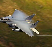 USAF F15E - Vapor by Simon Pattinson