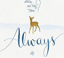 "Harry Potter ""Always"" by earthlightened"