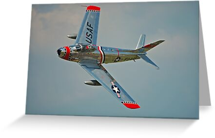F-86 Sabre by Andy Mueller