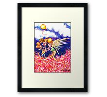 Carnival Abduction Framed Print