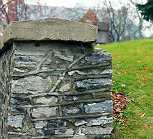 Stone fence by Kelly  McAleer
