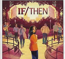 IF/THEN playbill idina menzel  by hipstertheatre