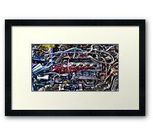 Car Intenstines Framed Print