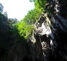 Insinde the Cave II - Batu Caves, Malaysia. by Tiffany Lenoir