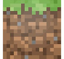 Minecraft Block Photographic Print