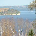Autumn Lake Timiskaming Ontario Canada by anita evans