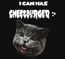 can has cheezburger? by Murray Newham