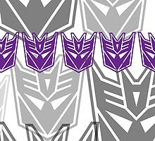 The Iconic Decepticons V2 by Vitalitee