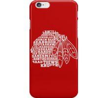 Chicago Blackhawks Team Tee iPhone Case/Skin