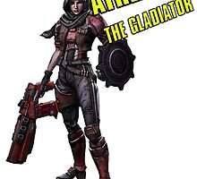 Borderlands The Pre Sequel - Athena Solo by AmadeusZV