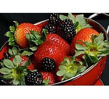 Summer Berries Photographic Print