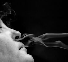 Smokin.. by Leisa  Hennessy