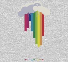 raining rainbows Kids Clothes