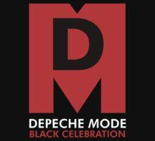 Depeche Mode : Black Celebration Logo Kids Clothes