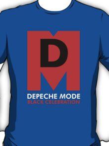 Depeche Mode : Black Celebration Logo T-Shirt