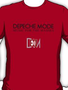 Depeche Mode : Music For The Masses Logo 2 T-Shirt