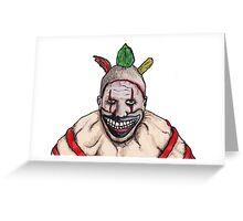 Twisty the Clown Greeting Card