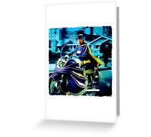 BatCycle Greeting Card