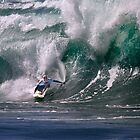 Jamie O'Brien At 2009 Quiksilver in Memory of Eddie Aikau Contest by Alex Preiss
