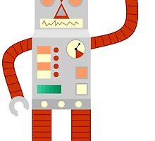Raygun Robot Invasion by pounddesigns