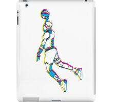 Michael Jordan retro 80's tribute artwork iPad Case/Skin