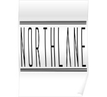 Northlane Logo Merch Design Poster