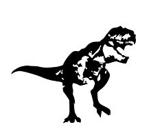 Shadow T-Rex by Articles & Anecdotes