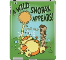 A Wild Snorax Appears iPad Case/Skin