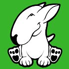 Side Sit English Bull Terrier  by Sookiesooker