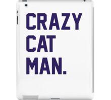 Crazy Cat Man iPad Case/Skin