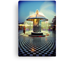 The 2007 Bonnaroo Fountain Canvas Print