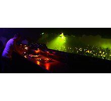DJ ing Photographic Print