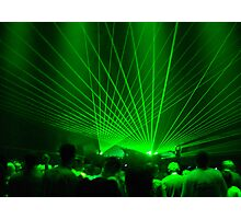 Lasers Photographic Print