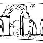 Iron Pillar, Qutb Complex by John Douglas