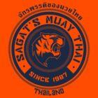 Sagat's Muay Thai by johnbjwilson