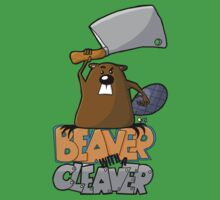 Beaver with a Cleaver by Oran