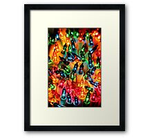 Christmas Colors Framed Print