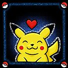 pikachu blue by likelikes