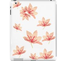 Vintage Chinoiserie watercolour floral print iPad Case/Skin